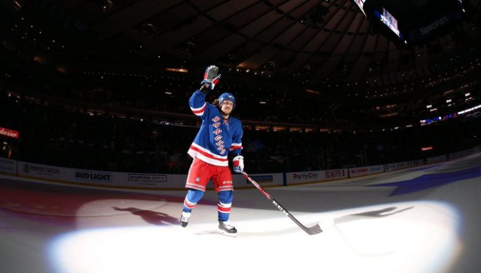 Artemiy Panarin named the first star of day in NHL