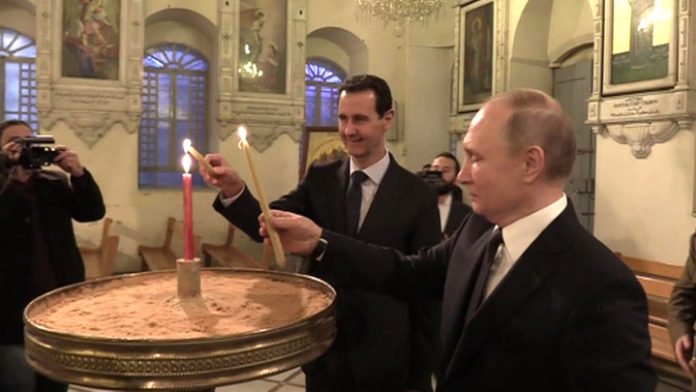 Assad has offered to send trump on the path of Apostle Paul
