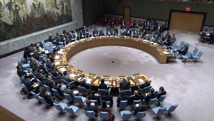 At the meeting of the UN security Council, Russia has provided evidence of falsification of himataki in the Duma