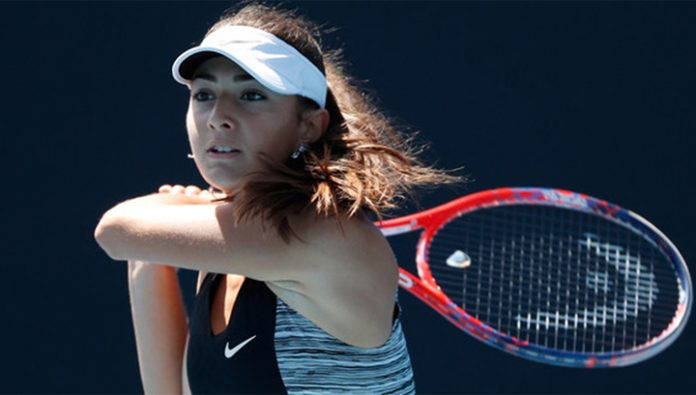 Australian Open. Avanessian came out in the second round of the Junior