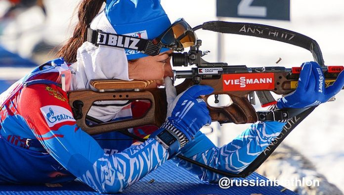 Biathlon. The Russians finished in seventh place in the relay at the world Cup in Oberhof