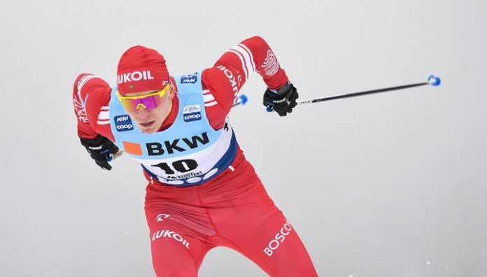 Bolshunov skier won gold at the world Cup in the Czech Republic