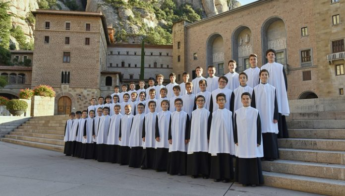 Boys choir of the monastery of Montserrat, will perform at the Christmas festival at the House of music