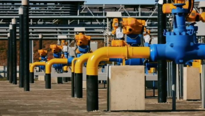 Bulgaria started to accept Russian gas through the