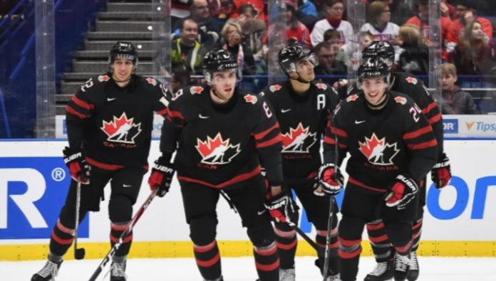 Canada defeated Slovakia in the quarterfinals of the world youth championship