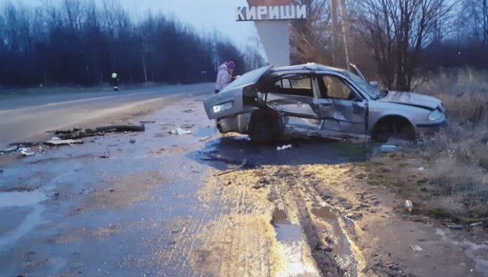 Child and two adults died in a terrible accident in the Leningrad region