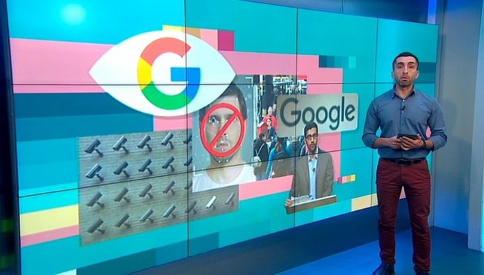 Вести.net Google and Microsoft have advocated the prohibition of face recognition technology