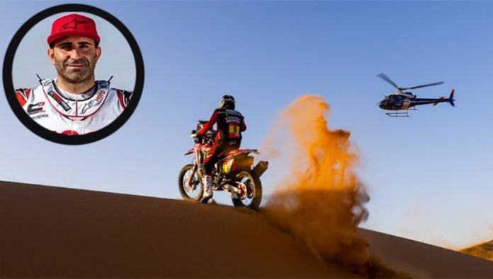 Dakar. The stage race riders cancelled due to the death Gonçalves