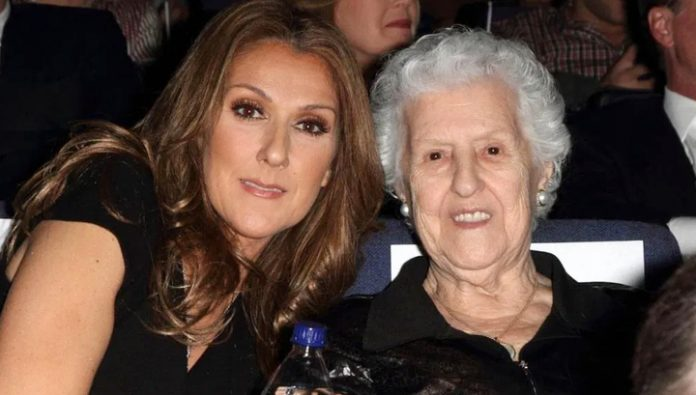 Died mother of singer Celine Dion