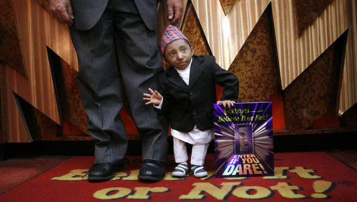 Died one of the smallest people in the world: its height was 67 cm