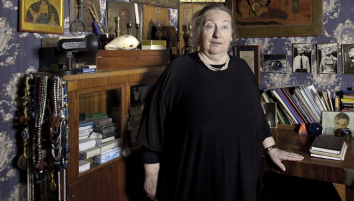 Died Professor of historical faculty of Moscow state University Olga Popova