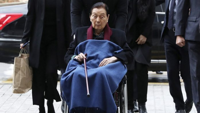 Died the founder of Lotte Group