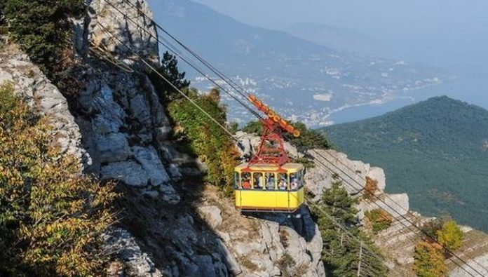 During prophylaxis: ropeway to the AI-Petri is closed until spring