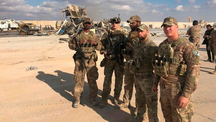 During the attack on base in Iraq have suffered more than 11 soldiers of the U.S. army
