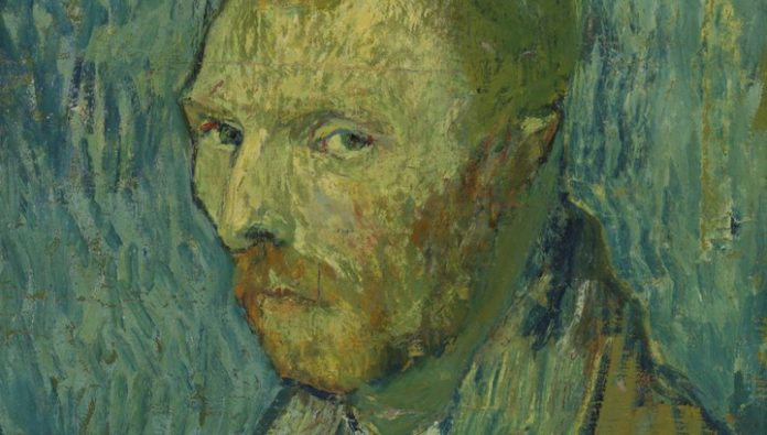 Experts have established who painted an unusual portrait of van Gogh
