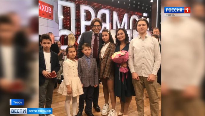 Family Rabinovich of Tver recognized as the best large family of Russia