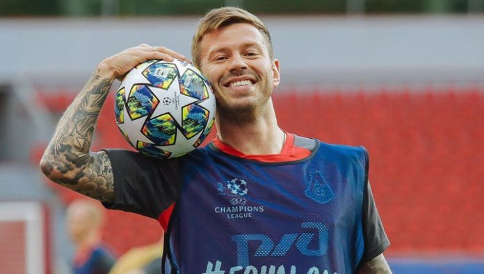 Fedor Smolov got to sphere of interests of