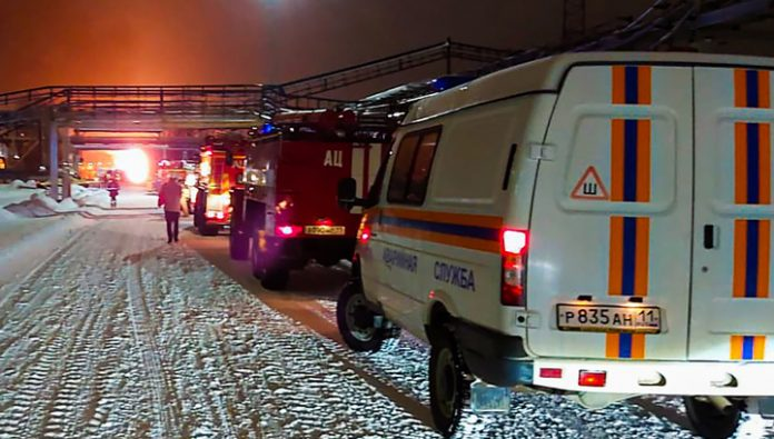 Fire at refinery in Komi Republic extinguished