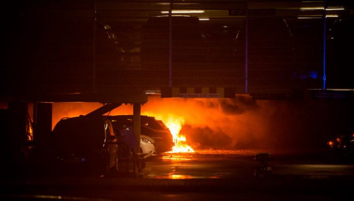 Fire in Stavanger, Norway suffered fifteen hundred machines