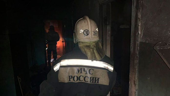 Fire in the Tula region killed three people