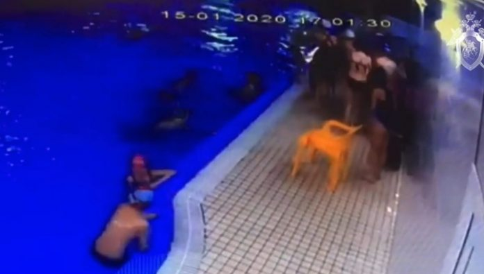 First-grader fell into a coma during a training session in the pool in Vsevolozhsk