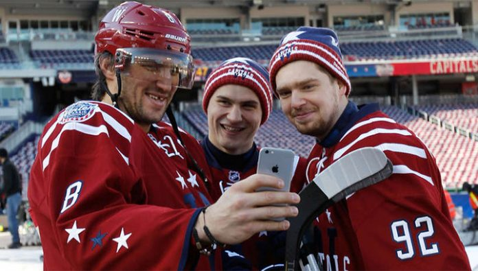 Five points of Ovechkin, Kuznetsov and Orlov helped