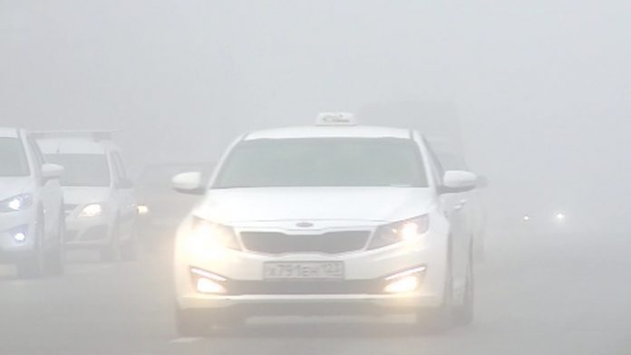 Fog, ice and wind: bad weather caused dozens of accidents throughout the country