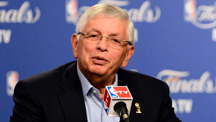 Former NBA Commissioner David stern has died on 78-m to year of life