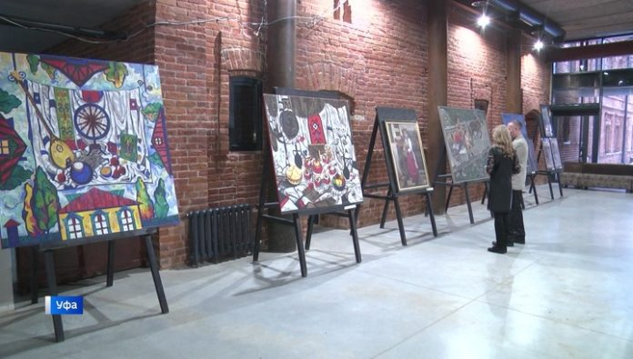 Free exhibition of more than 130 young artists headed for the cities of Bashkiria