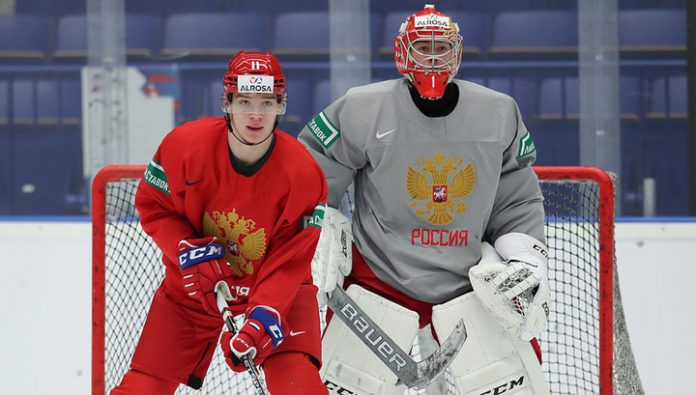 Hockey. Became known part of Russia in the match of the youth world Cup with Switzerland