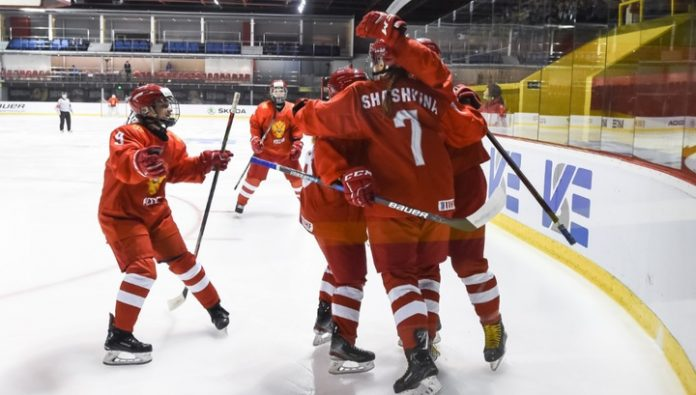 Hockey. The Russians had won bronze medals of the youth world championship