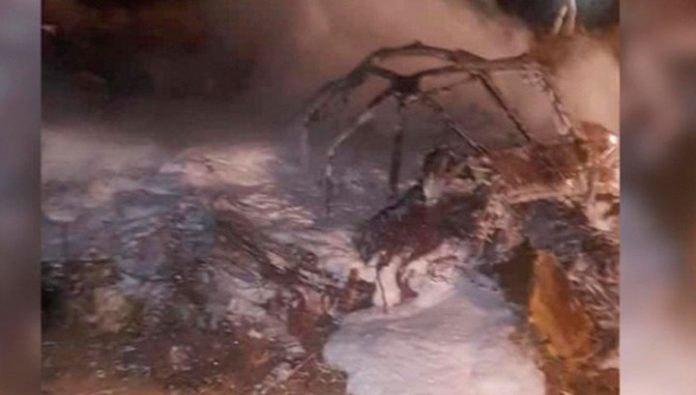 In a plane crash in Sudan has killed 18 people, including four children