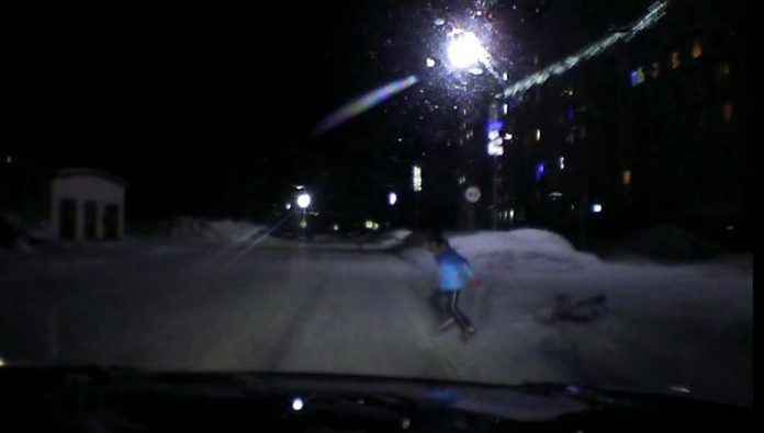 In Murmansk driver hit a 10-year-old girl in the crosswalk