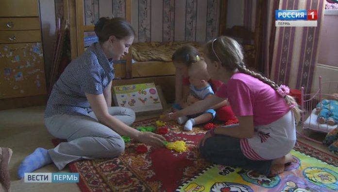 In Prikamye 38 thousand families can count on social benefits up to 7 years of the child