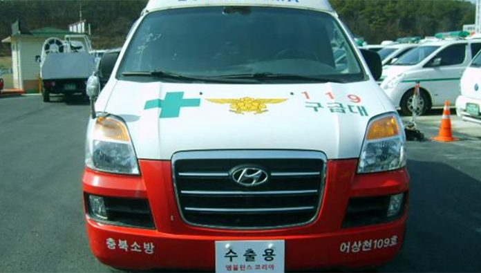 In South Korea hospitalized Chinese, infected with viral pneumonia