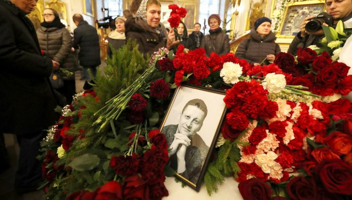 In St. Petersburg buried the doctor Pavlenko