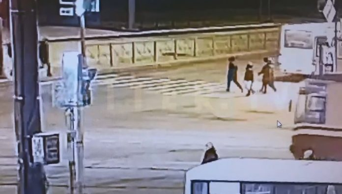 In St. Petersburg, the reckless driver got down pedestrians injured in serious condition. Video