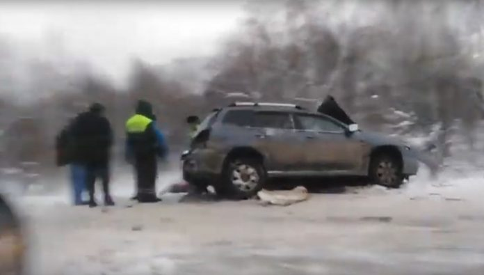 In the accident near Tomsk injured six people