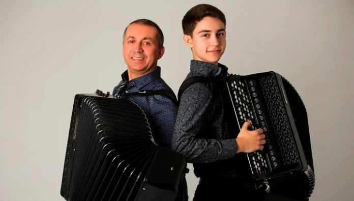 In the Berlin of the Church of Jesus Christ held a unique accordion concert