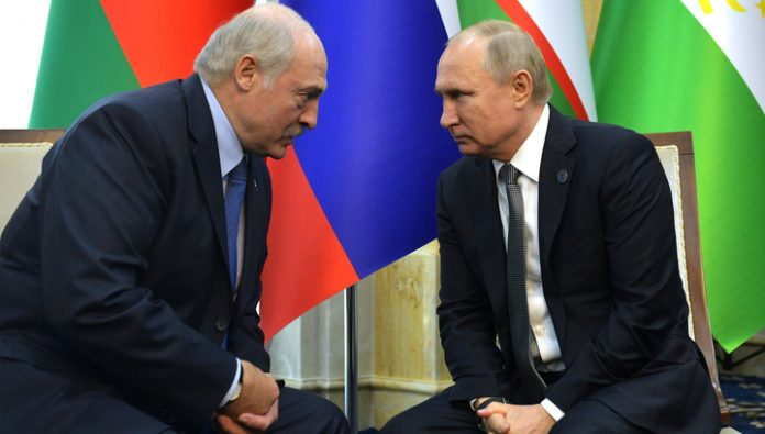 In the chart of Putin no meetings with Lukashenka