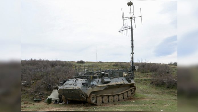 In the far East for the first time took over day and night duty group electronic warfare