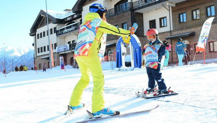 In the mountains of Sochi has started free classes for children with special needs