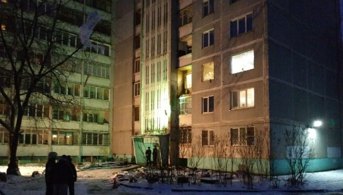 In Tver in a residential building exploded gas: two victims