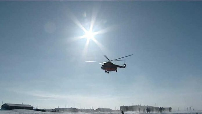 Incident with Mi-8: the helicopter had 13 children
