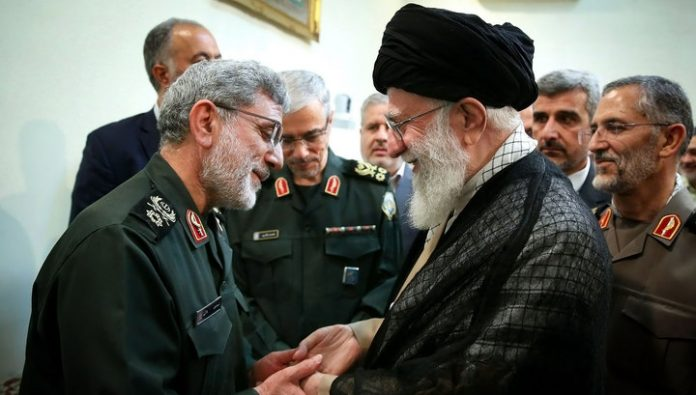 Iran found a replacement for the slain General and threatened States