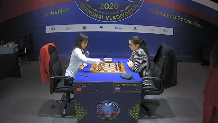 Ju Wenjun retained the chess crown