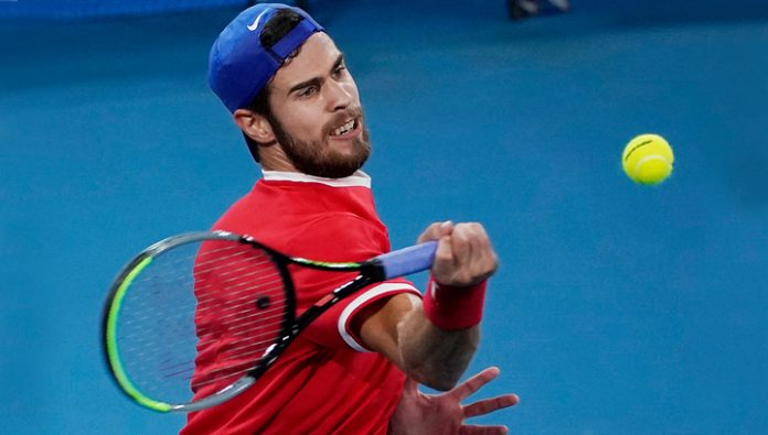Karen Khachanov brought the Russian team the lead in the match with Argentina