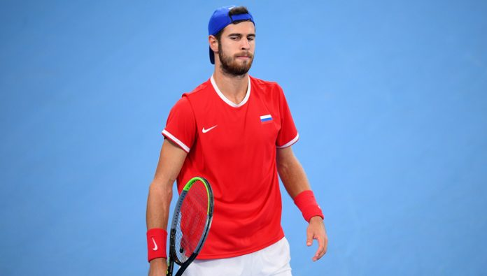 Khachanov failed to make it to the quarterfinals of the tournament in Auckland