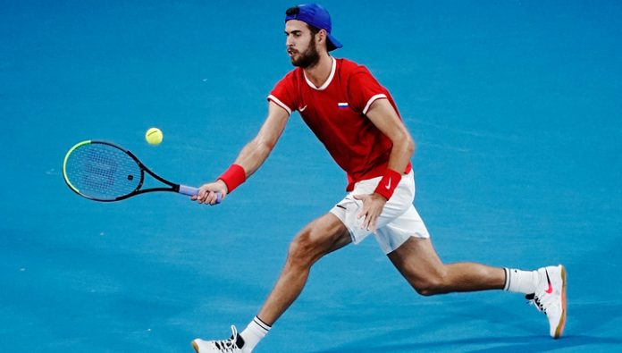 Khachanov lost to Lajovic in the first match of the semifinals of the ATP Cup