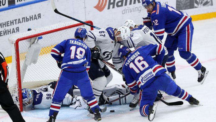 KHL. SKA was stronger than the Moscow